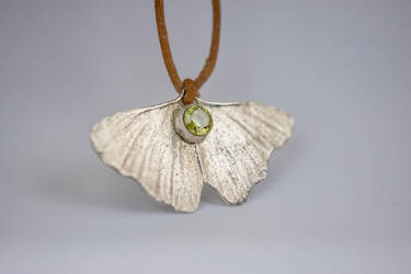 Ginkgo jewelry by Alandil-Lenard