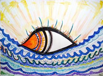 Cretan Sun by TheRedBloodedWoman