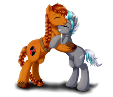 :com: a little hug by Evomanaphy