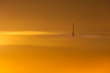 Rising from the fog by morglin