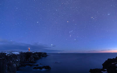 Svortuloft lighthouse panorama by morglin