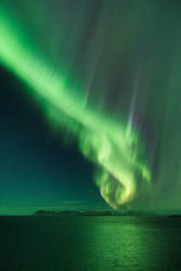 Iceland Aurora by morglin