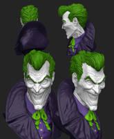 Joker for 3D Print by stevenjamestaylor