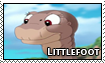TLBT: Littlefoot Support Stamp by Fishlover