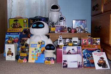 My WALL-E Collection 2 by Fishlover