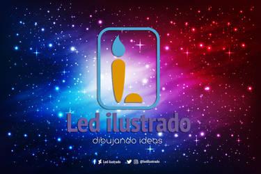 Wallpaper Galaxy Led by Ledilustrado