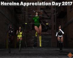 Heroine Appreciation Day 2017 by Dangerguy01