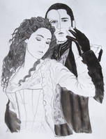 Erik and Christine by Galaad-Phantom
