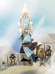 Warriors:Legnds of Troy: Odysseus by sukreih
