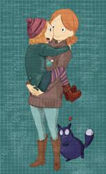 Peg+Cat+Mom by sukreih