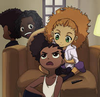 The Boondocks: Riley, Jazmine by sukreih