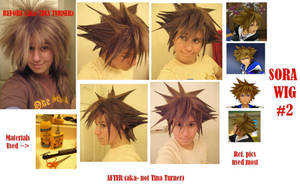 + Sora Wig Number Two + by Spwinkles