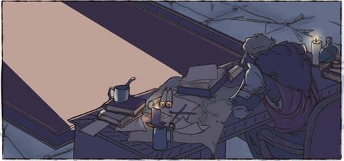 Cullens Desk by captainceranna