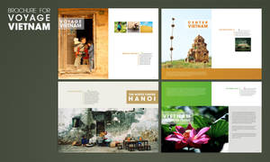Brochure  for Voyage Vietnam by vic198x