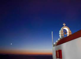 Church sunset by NickKoutoulas