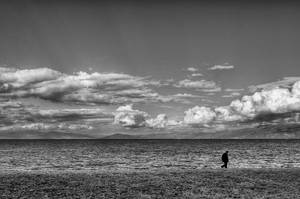 A walk alone by NickKoutoulas