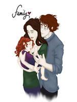 Famille de Cullen 'colored' by alifsu17