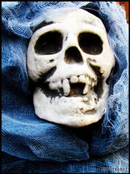 Halloween : Smiley skull by DecoyRobot