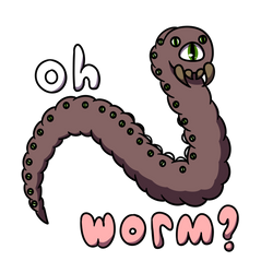 Oh Worm? by ssundiall