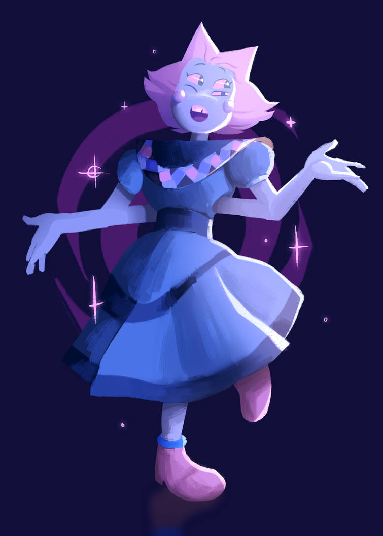 From one of the new Steven Universe episodes, I liked her design! very cute, would dance with