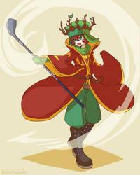High Jew Elf King Kyle by sabisuke