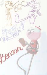 Dat Sexy Gumball Machine Benson by LC85