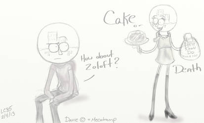 Cake, Death, Zoloft? by LC85