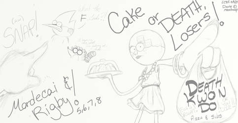 CAKE OR DEATH, LOSERS! by LC85