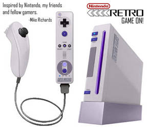 Nintendo Retro SNES by RetroMike