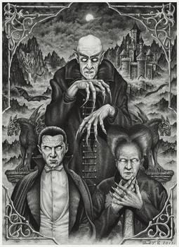 The Classic Horror by Derek-Castro