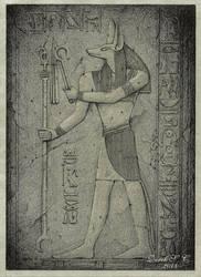 I. Forgotten Ruins - Anubis by Derek-Castro