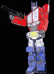Optimus Prime by zeriaph