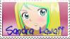 Fairy Tail OC - Sandra Lawaii Stamp by IceCreamBubblegum