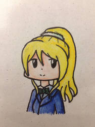 Eli Ayase Doodle - coloured ver. by NQ01