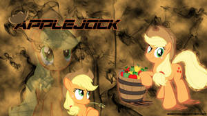 Applejack Wallpaper by brightrai