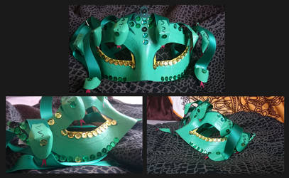 Medusa Mask - Showcase by drakenfolk