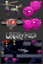 UnderPogo Character models by SophieHoulden