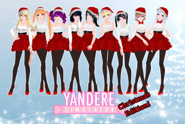 (MMD) Yandere Simulator Rivals - Christmas edition by Natipassion