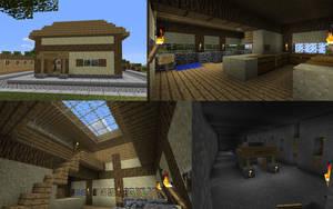Minecraft Mine by burntcustard