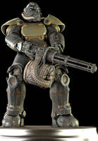 T-51 Power Armor by Yare-Yare-Dong