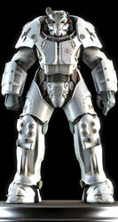 X-01 Power Armor by Yare-Yare-Dong