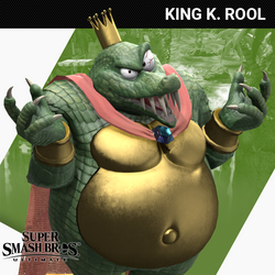 SUPER SMASH BROS. ULTIMATE - King K. Rool by Yare-Yare-Dong