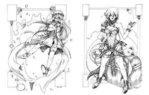 CM: Ink comms by nidoriko