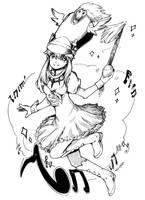 KLK: Nonon ink by nidoriko