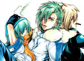 RR: Trio again by nidoriko