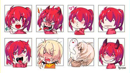 CR: Emojis by nidoriko