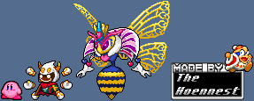 Queen Sectonia KSSU style sprite by The-Hoennest