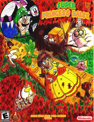 Super Princess Daisy (25th Ann. Tribute) by mrm64
