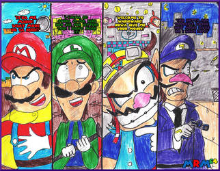 The 4 Mustached Plumbers - The Kingdom's Finest by mrm64