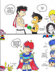 TOSOTS - Ryu, Roy and their Swagger. by mrm64